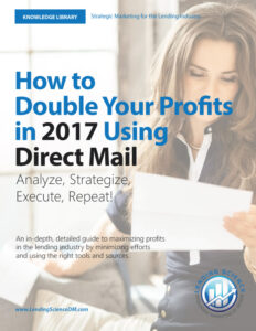 How To Double Your Profits In 2017 Using Direct Mail COVER